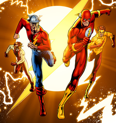 Four Flashes (Flash Companion cover)