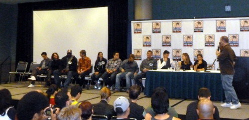 Young Justice Cast at LBCHC 2013