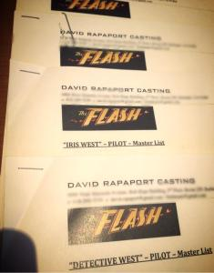 Flash casting sheets