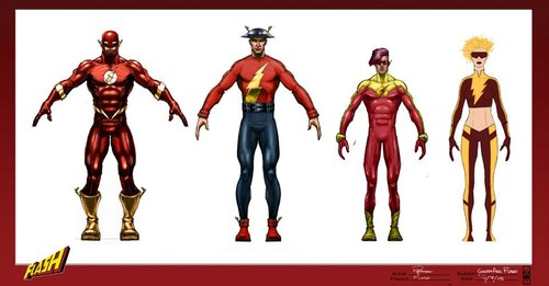 Flash Game Speedster Designs - Roger Robinson