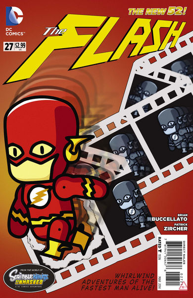 Flash #27 Scribblenauts Variant Cover