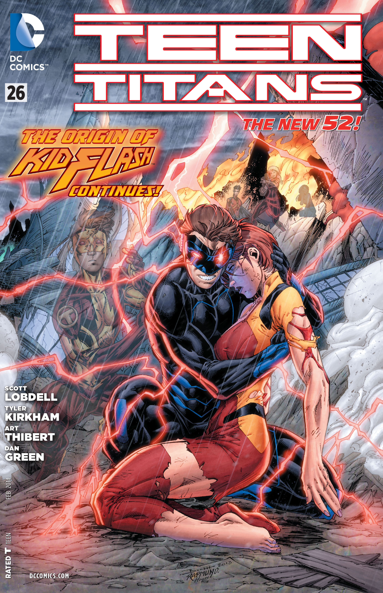 Secrets Revealed Review Of Teen Titans 26 - Speed Force-1025
