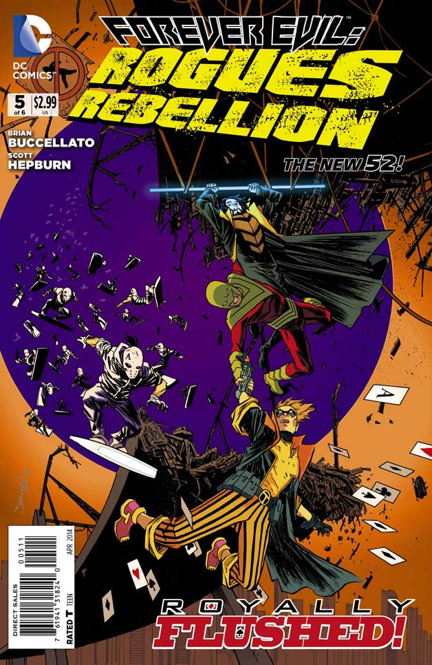 Forever Evil: Rogues Rebellion #5