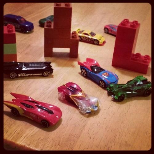 Justice League Hot Wheels Cars