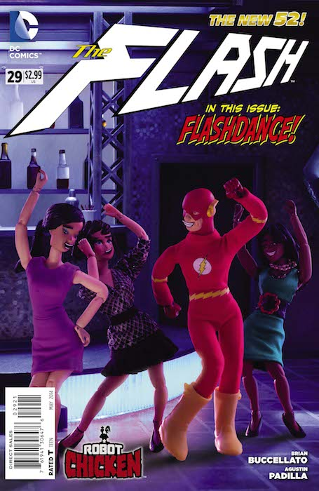 Flash #29 - Robot Chicken Variant Cover