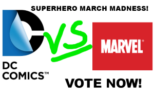 superhero march madness