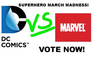 superhero march madness
