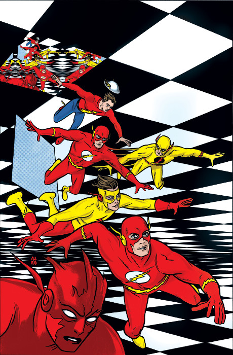 Flash 31 Variant Cover by Mike Allred