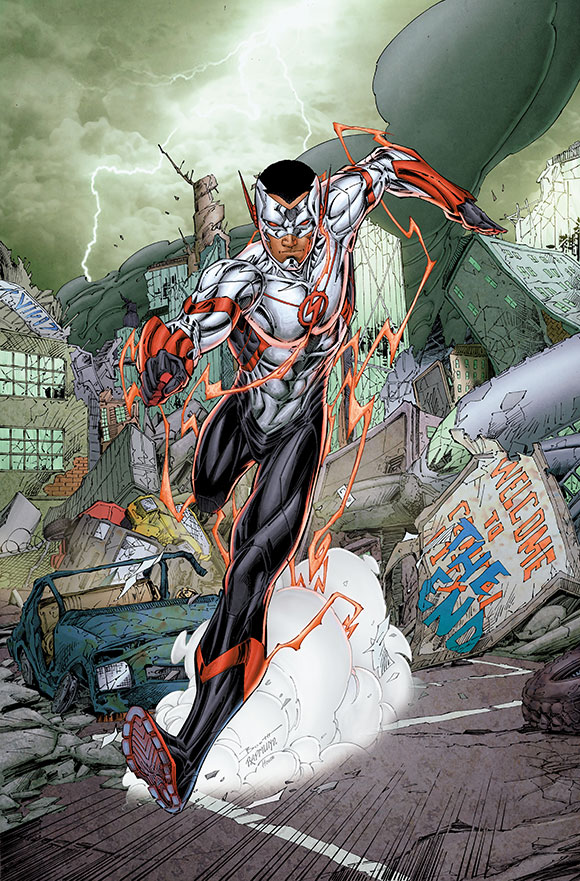 Flash Five Years Later - after: Wally West