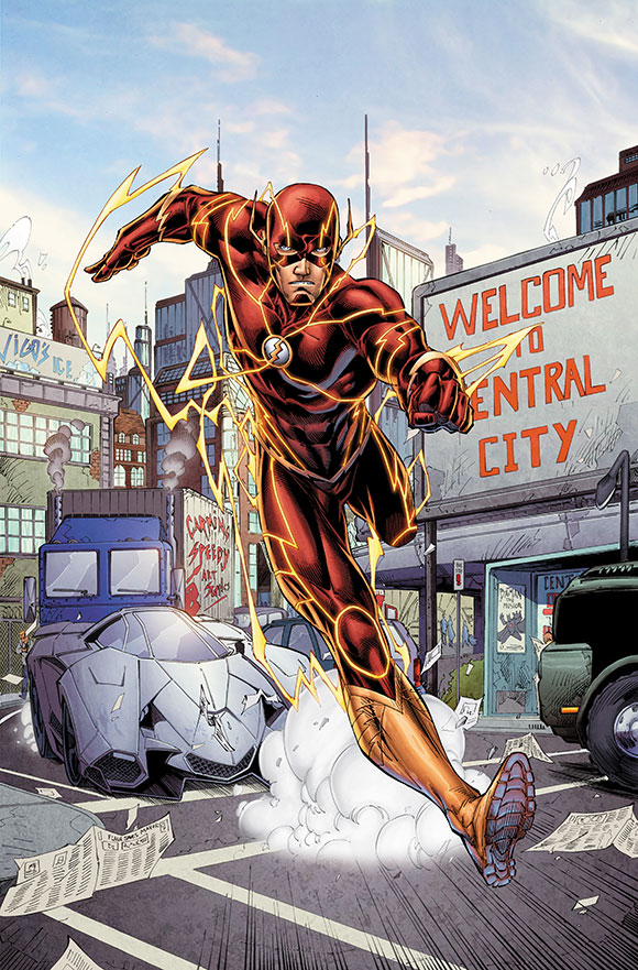 Flash - Five Years Later - before: Barry Allen