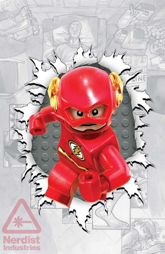 Flash #36 LEGO Variant Cover
