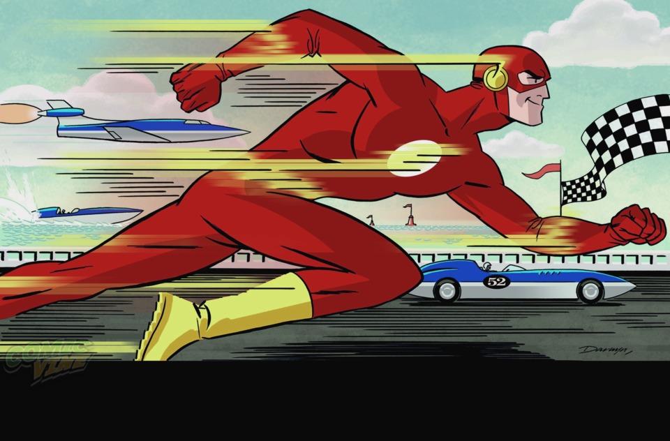 Flash #37 Darwyn Cooke variant cover