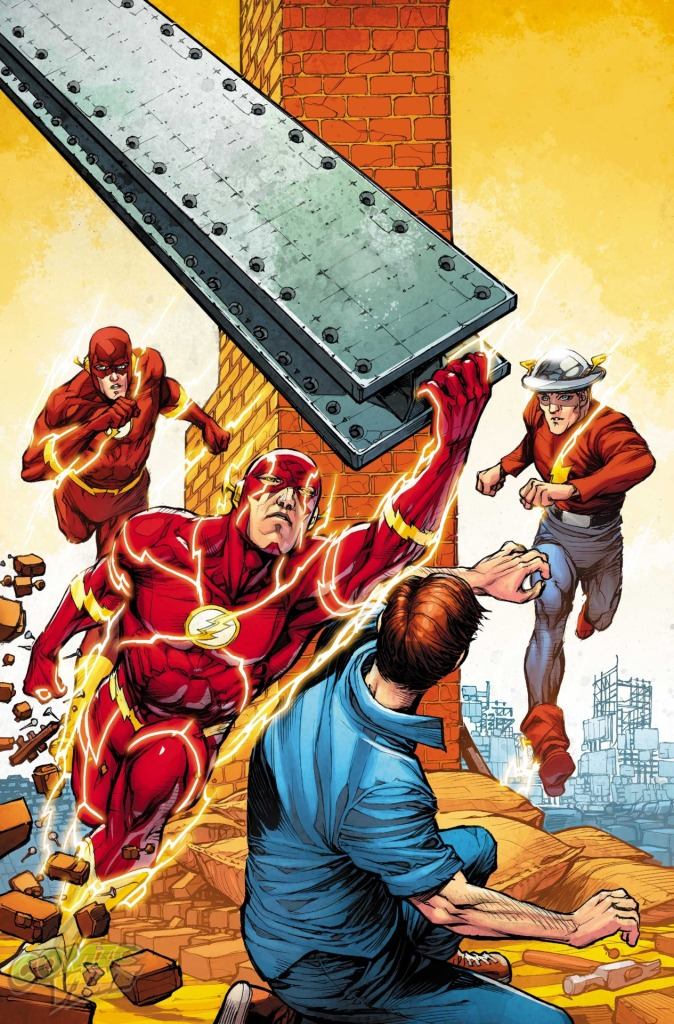 Flash 38 Cover Variant by Howard Porter