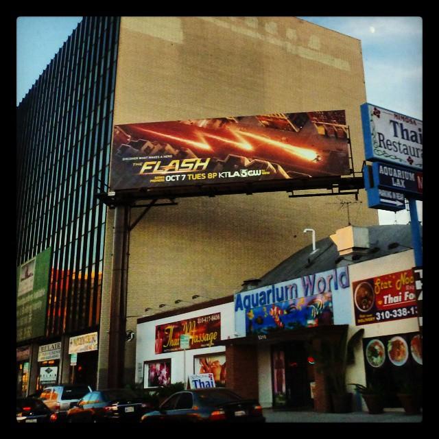 Flash TV Show Billboard.