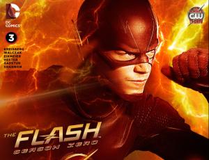 flash season zero digital chapter 3 cover