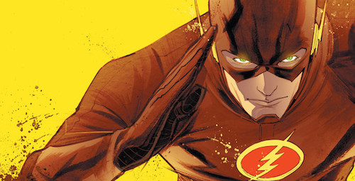 Flash Season Zero Banner by Francis Manapul