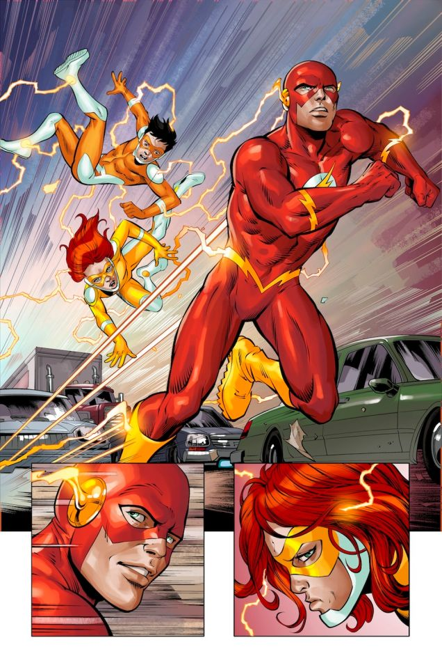 Speed Force / Convergence