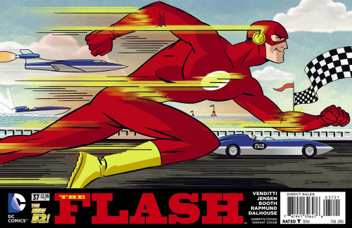 Flash #37 Darwyn Cooke Variant