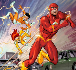 Speed Force / Convergence: Wally West and the Twins