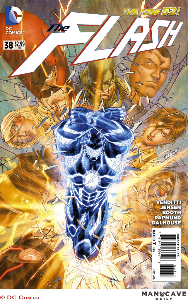Flash #38 Preview is Up! - Speed Force