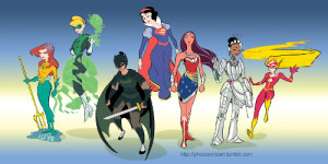 Disney Princess Justice League