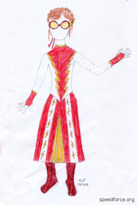 Anna from Frozen: Impulse costume design
