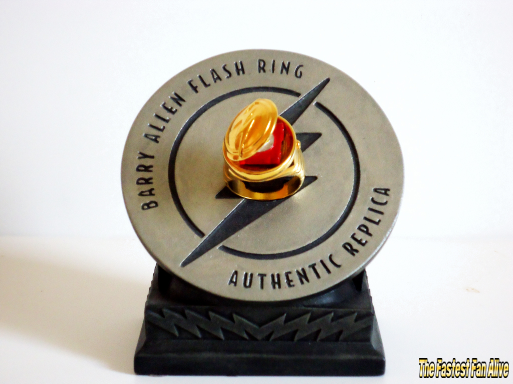 Barry Allen Flash Ring Authentic Replica For Sale