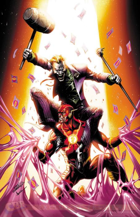 Flash #41 Joker Variant