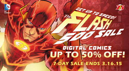 Flash 500 Sale (ComiXology)