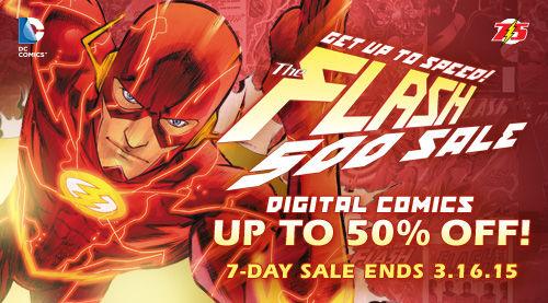 Flash 500 Sale (ComiXology)