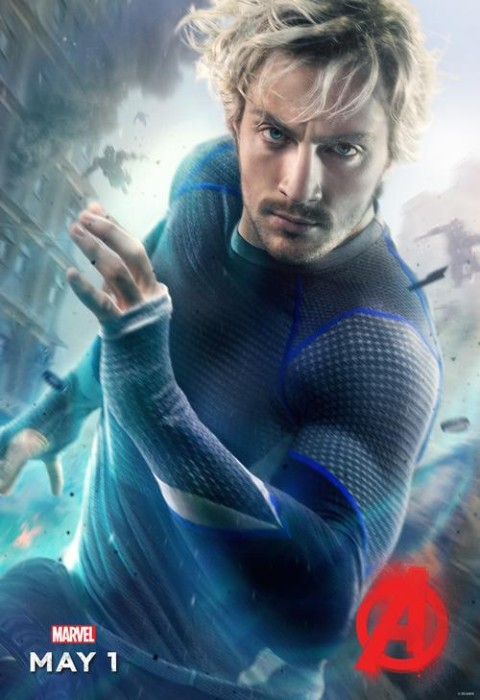 Quicksilver character poster for Avengers: Age of Ultron