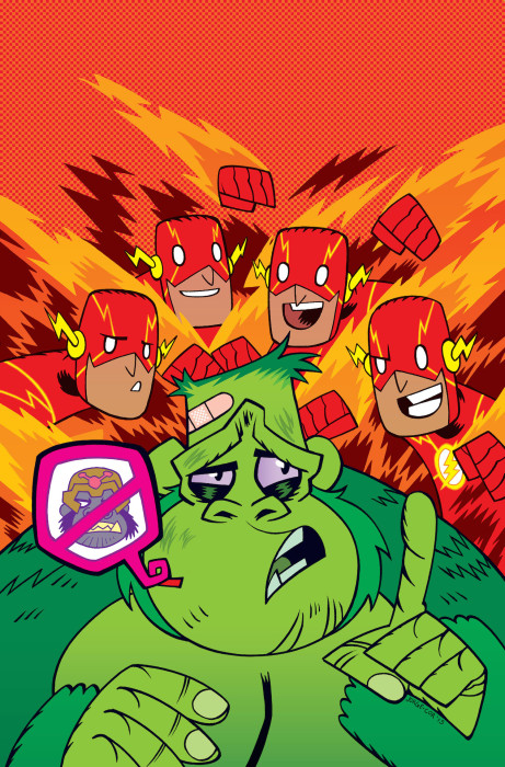 Flash #42 Teen Titans Go Variant