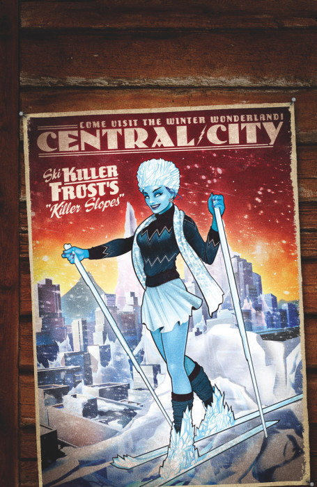 Flash #43 Bombshells Killer Frost Variant