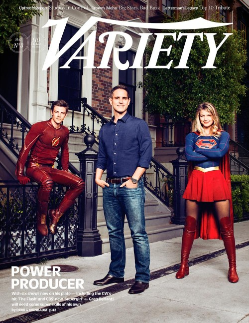Variety Cover Berlanti Flash Supergirl