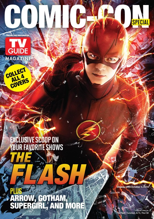 The Flash TV Guide Cover SDCC 2015