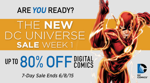 DC Universe Sale at ComiXology