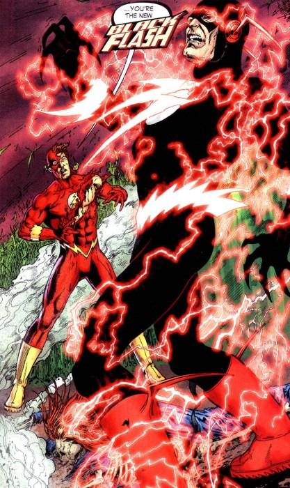 Flash Rebirth: Barry Allen becomes the Black Flash