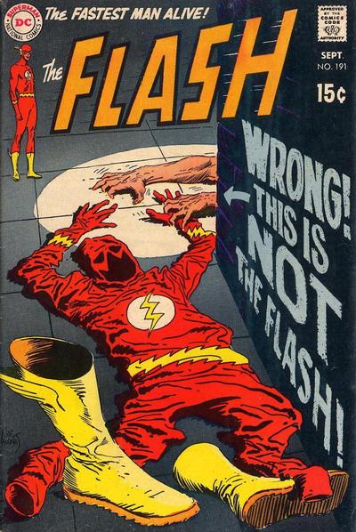 Flash #191 cover by Joe Kubert