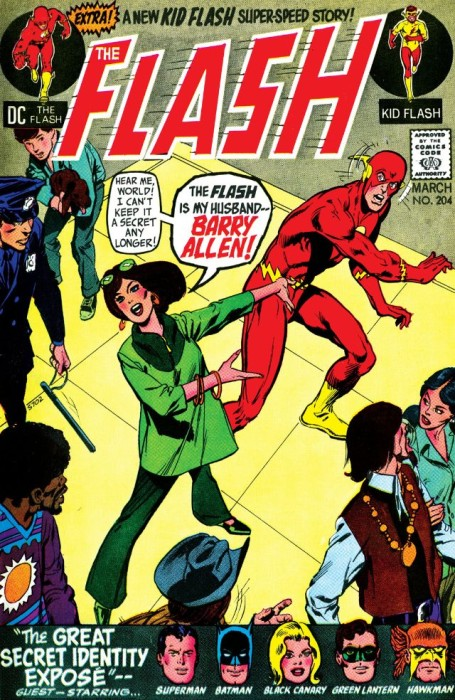 Flash #204: Iris reveals Barry Allen's secret!