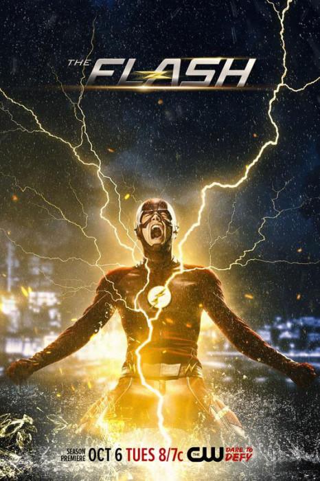 Flash Season 2 Poster - Scream