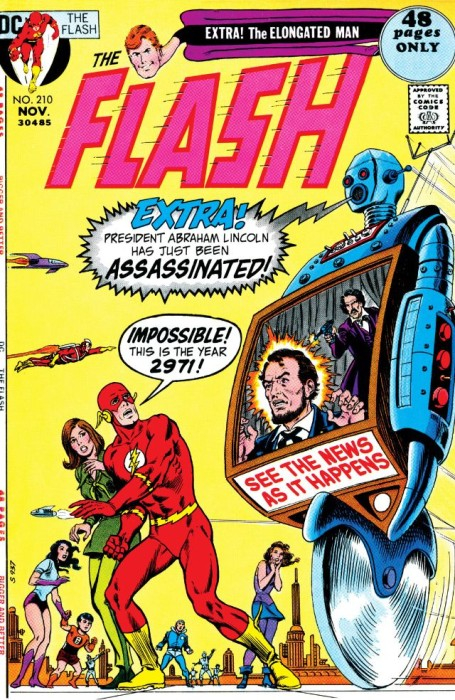 Flash #210: Robo-Lincoln vs. Robo-Booth