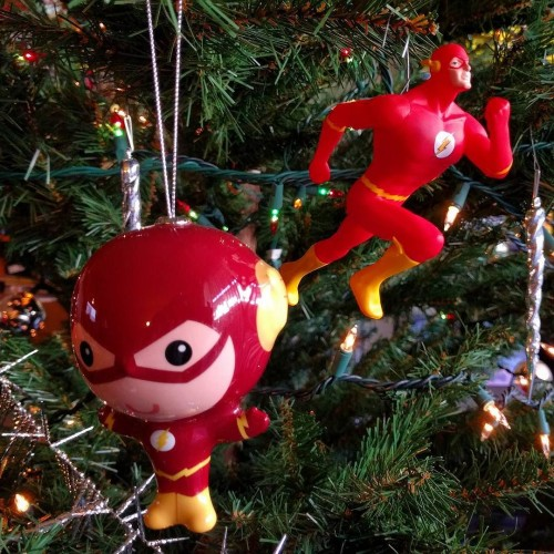 Flash Christmas Ornaments