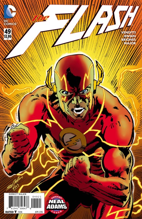 Flash #49 Neal Adams / Frank Miller Variant
