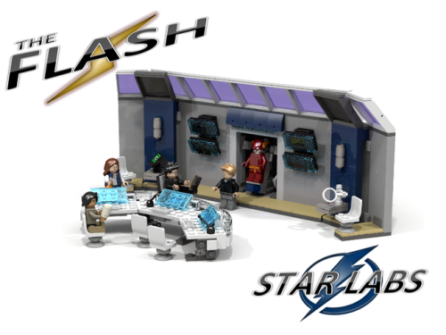 Flash STAR Labs LEGO Idea