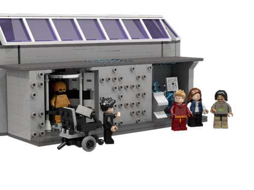 LEGO STAR Labs Time Vault
