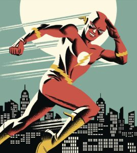 Flash Silver Age by Michael Cho