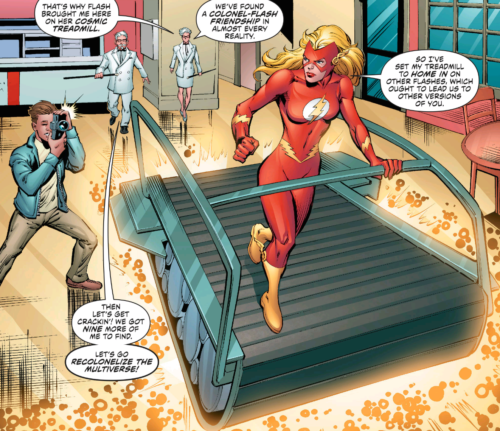 KFC Flash of Earth 11 and the Cosmic Treadmill