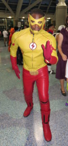 Wally West TV Flash Cosplay at LA Comic Con 2016